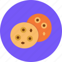 bake, chip, chocolate, christmas, cookie, cookies, ginger icon