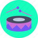 beat, drums, music, parade icon