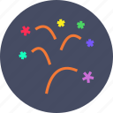 blast, celebrations, christmas, crackers, fireworks, new year icon