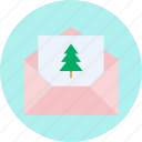 celebration, christmas, invitation, invite, mail, new year, party icon