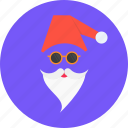 cap, christmas, claus, gift, new year, santa icon