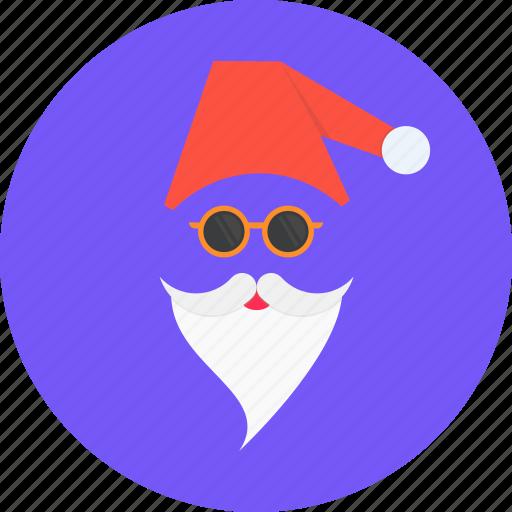 cap, christmas, claus, gift, new year, santa icon