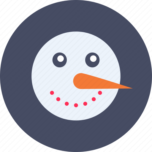 carrot, christmas, man, new year, snow, winter icon