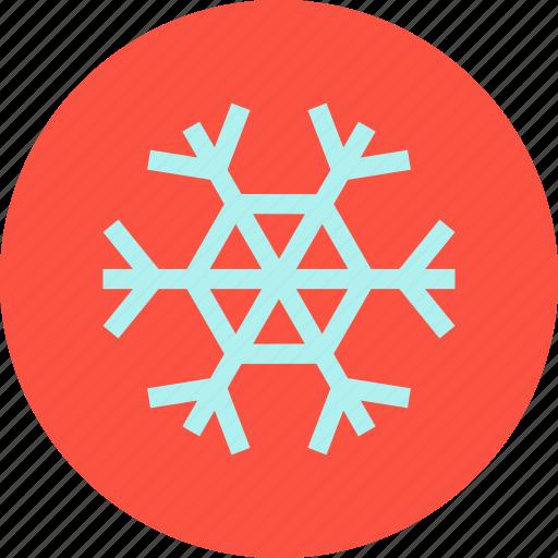 christmas, new, snow, snowflake, winter, xmas, year icon