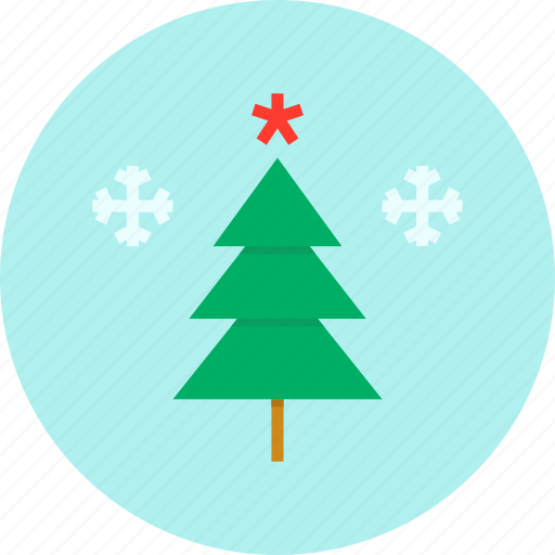 christmas, new year, star, tree, winter icon
