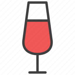 beer, glass, whisky, wine icon