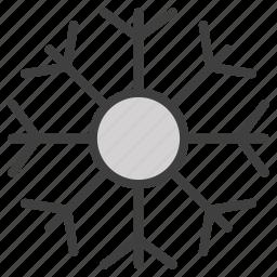 freezing, snow, snowing icon