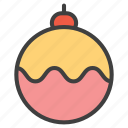 ball, decoration, decoration ball icon