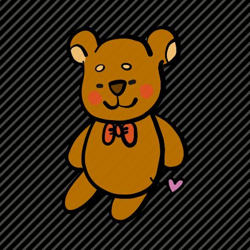 bear, birthday, christmas, doll, gift, present, teddy icon