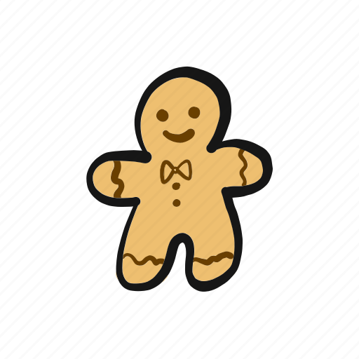avatar, christmas, cookie, gingerbread, man, person, santa icon