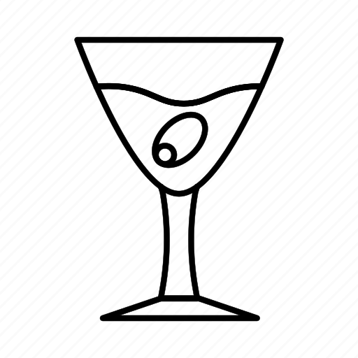 beverage, drink, food, glass icon