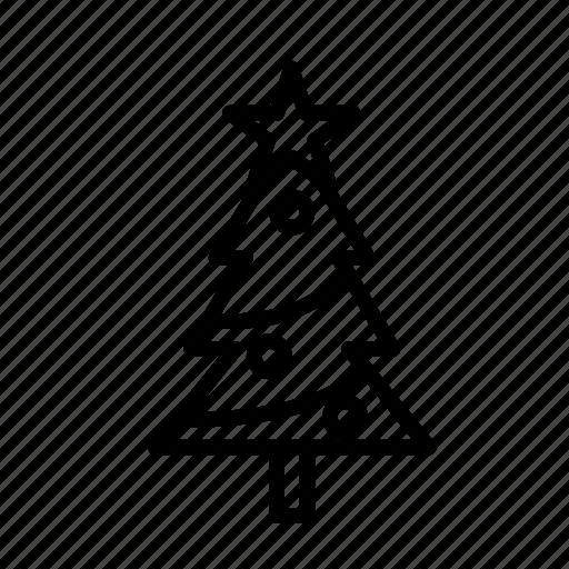 christmas, party, tree, winter, xmas icon