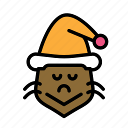 christmas, grinch, party, winter icon