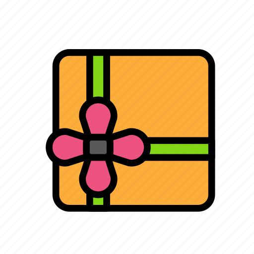 box, christmas, party, present, winter icon