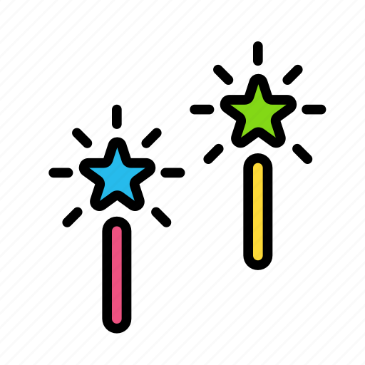 candle, christmas, party, s, star, winter icon