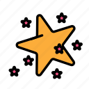 christmas, party, s2, star, winter icon