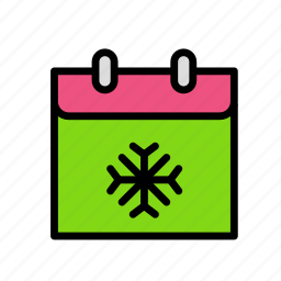 christmas, party, season, winter icon