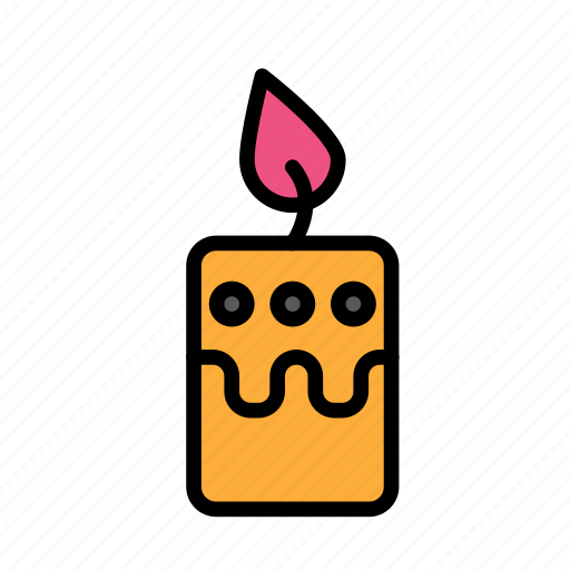 candle, christmas, party, winter, xmas icon