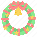 bell, celebration, christmas, decoration, holiday, xmas icon