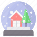 christmas, decoration, gift, snow, weather, winter, xmas icon