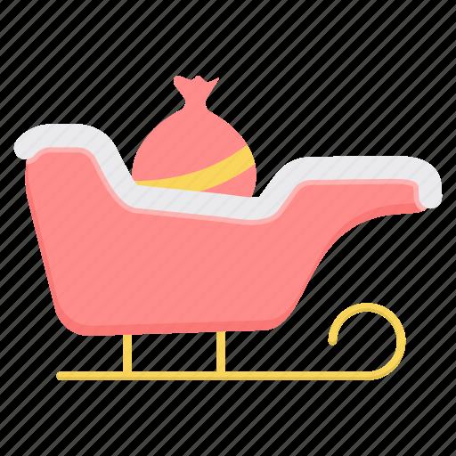 cart, christmas, decoration, holiday, winter, xmas icon