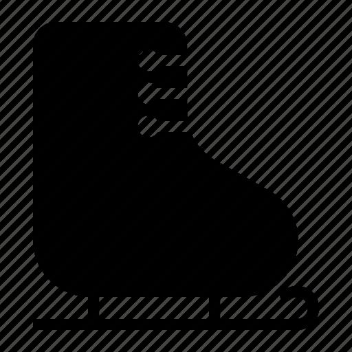 boot, christmas, gift, ice, present, skate, xmas icon