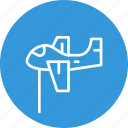 airplane, celebration, christmas, festival icon