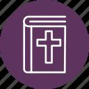 bible, celebration, christmas, festival icon