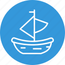boat, celebration, christmas, festival icon