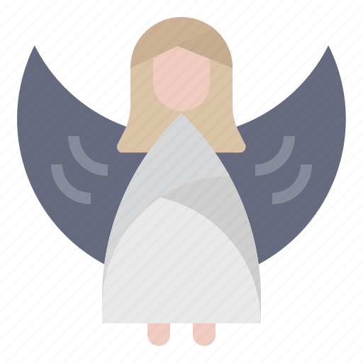 angel, christmas, decoration, ornament, santa, winter, xmas icon