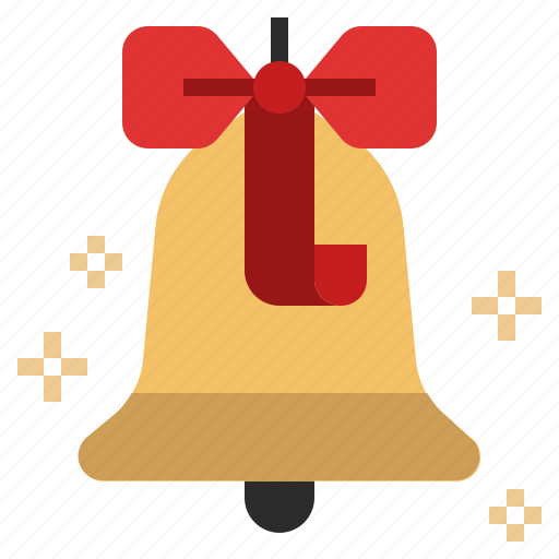 Bell, notification, ornament, xmas, christmas, alert icon
