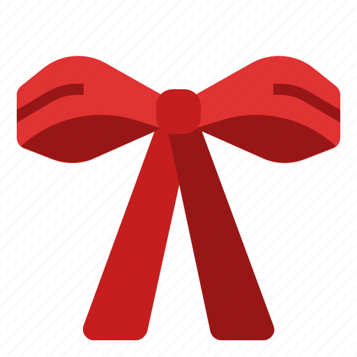 Bow, decoration, ribbon, ornament, christmas, gift icon