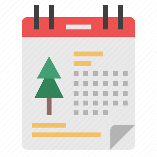 Calendar, xmas, schedule, event, date, christmas, day icon - Download