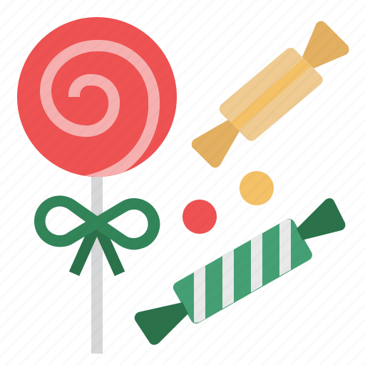 Candy, dessert, christmas, lollipop, sweets, sugar icon