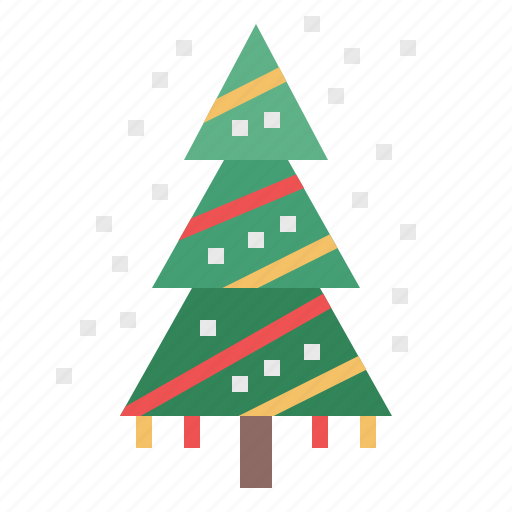celebration, christmas, decoration, snow, tree, winter, xmas icon