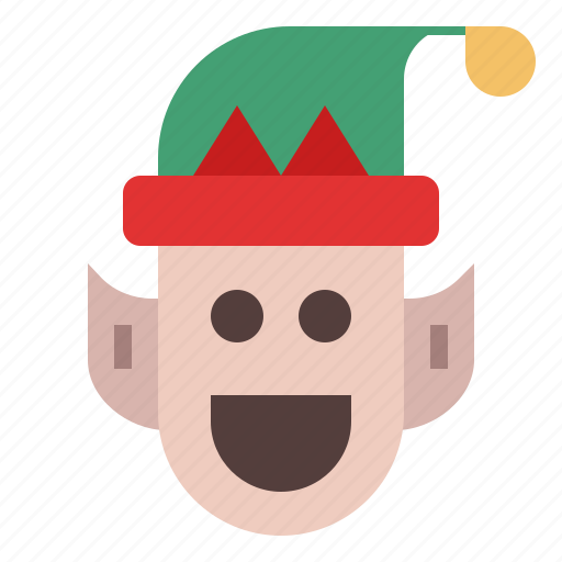 Elf, winter, christmas elf, christmas, fantasy, santa, xmas icon