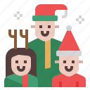 family, people, house, christmas, child, xmas, kid