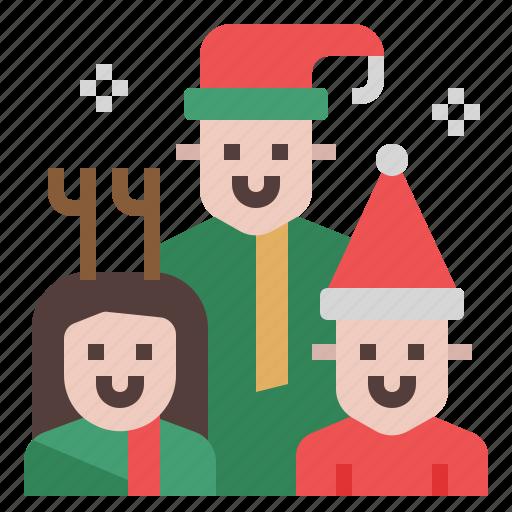 child, christmas, family, house, kid, people, xmas icon