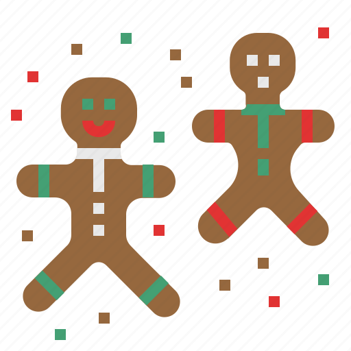 bread, celebration, christmas, cookie, ginger bread, party, xmas icon