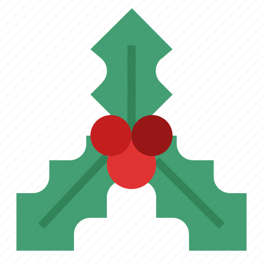 Holly, christmas, berry, winter, celebration, xmas icon - Download