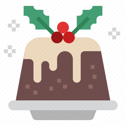 Pudding, cake, christmas, dessert, sweet, sweets, xmas icon - Download on Iconfinder