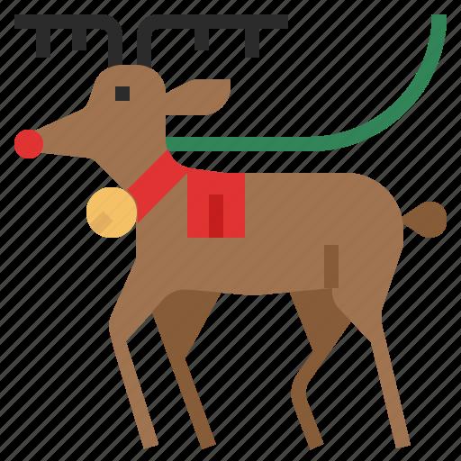 christmas, deer, reindeer, santa, santa claus, winter, xmas icon