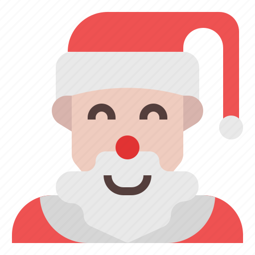 Santa, santa claus, christmas, xmas, winter, gift, snow icon - Download
