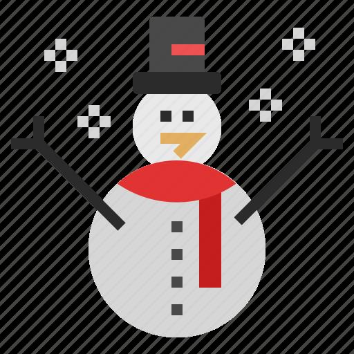 Snowman, celebration, christmas, decoration, snow, winter, xmas icon - Download on Iconfinder
