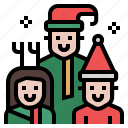 baby, christmas, family, father, kid, people, xmas icon