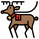 christmas, deer, reindeer, santa, santa claus, winter, xmas icon