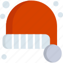 christmas, hat, holiday, new year, santa, winter, xmas icon