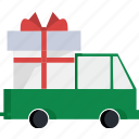 delivery, christmas, holiday, new year, winter, xmas