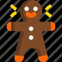 christmas, gingerbread, holiday, man, new year, winter, xmas icon