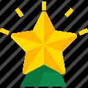 christmas, holiday, new year, star, winter, xmas icon